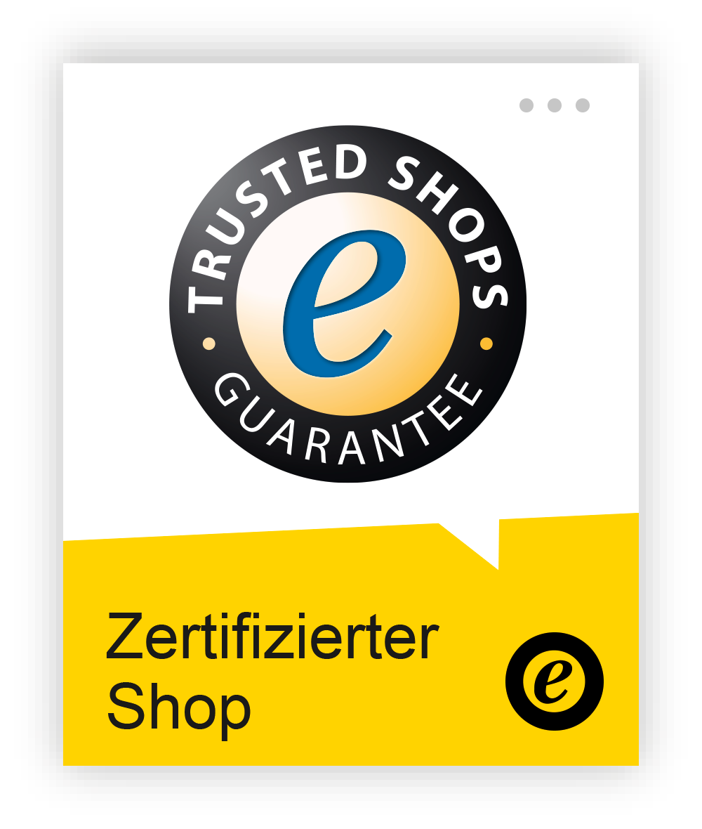 Trusted Shops Trustbadge Gütesiegel